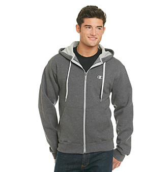 Champion® Eco Men's Granite Fleece Full-Zip Hoodie