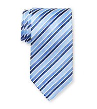 Geoffrey Beene® Men's Extra Long Island Fun Striped Tie