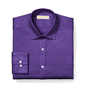 MICHAEL Michael Kors® Men's Eggplant Dress Shirt