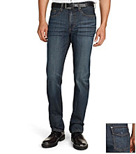 Kenneth Cole New York® Men's Dark Indigo Straight-Fit Jeans