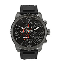 Diesel Black Limited Edition Mr. Cartoon Watch