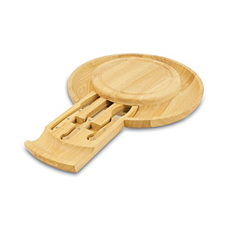 Picnic Time® Colby Rubberwood Cheeseboard