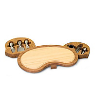 Picnic Time® Mariposa Bamboo Wine and Cheese Cutting Board