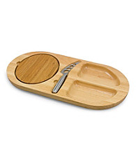 Picnic Time® Fontina Cheese and Cracker Serving Board