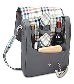 Picnic Time® Britannia 2-Bottle Wine Tote
