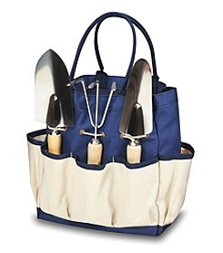 Picnic Time® Large Garden Tote with 3-pc Tool Set