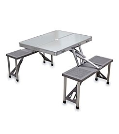 Picnic Time® Aluminum Picnic Table with 4-Seats