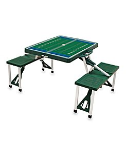 Picnic Time® Picnic Table with Football Field Imprint