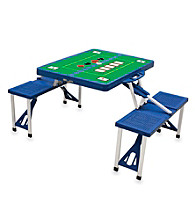 Picnic Time® Picnic Table with Poker Imprint