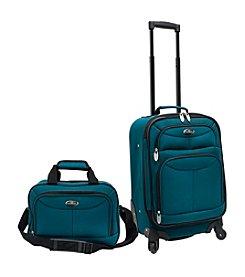 U.S. Traveler® Fashion 2-pc. Carry-On Luggage Set