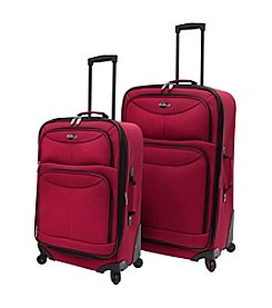 U.S. Traveler® Fashion 2-pc. Spinner Luggage Set