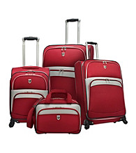 Beverly Hills Country Club® 4-pc. Expandable Spinner Luggage Set