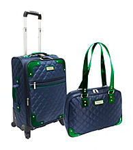 Beverly Hills Country Club® 2-pc. Quilted Carry-On Luggage Set