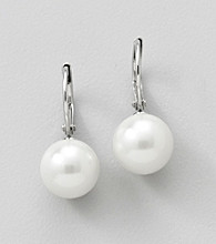Lauren Ralph Lauren White Pearl Earrings