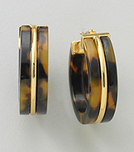 Lauren Ralph Lauren Tortoise Earrings