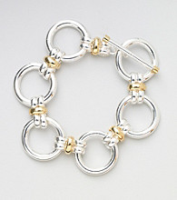 Lauren Ralph Lauren Large Two Tone Bracelet