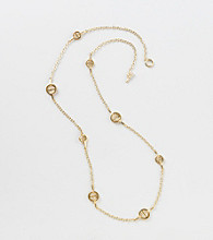 Lauren Ralph Lauren Goldtone Illusion Necklace