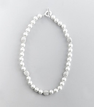 Lauren Ralph Lauren White Pearl Necklace