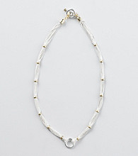 Lauren Ralph Lauren Two Tone Chain Necklace