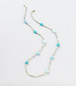 Lauren Ralph Lauren Turquoise Illusion Necklace
