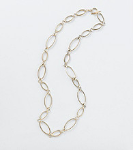 Lauren Ralph Lauren Long Goldtone Necklace