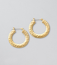Lauren Ralph Lauren Matte Gold Earrings
