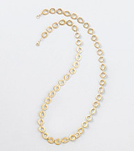 Lauren Ralph Lauren Matte Goldtone Necklace
