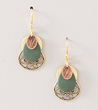 Silver Forest® Multi Layered Shape Earrings