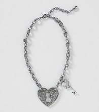 Guess Jet Heart Necklace