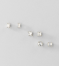 Guess Crystal Trio Stud Earring Set