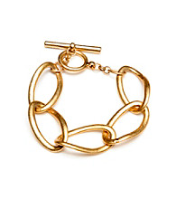Kenneth Cole® Goldtone Link Toggle Bracelet
