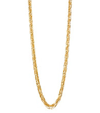 Kenneth Cole® Goldtone Multi Chain Long Necklace