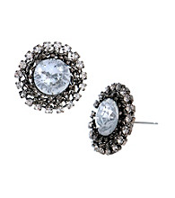 Betsey Johnson® Crystal Burst Stud Earrings