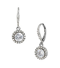 Betsey Johnson® Pave Crystal Drop Earrings