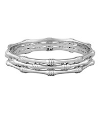 Aluminum Bamboo Bangle