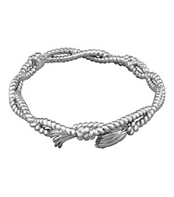 Aluminum Rope Bangle