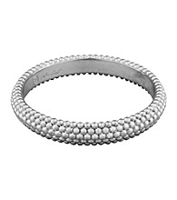 Aluminum Bead Bangle
