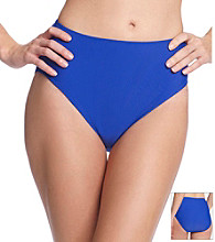Relativity® Solid Blue Brief Swimwear Bottom