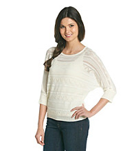 Nine West Vintage America Collection® Leif Tonal Dolman Sweater