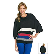 Rafaella® Colorblock Cowlneck Sweater