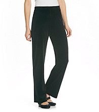 Jones New York Signature® Basic Jog Velour Pant