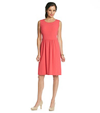Tahari by Arthur S. Levine® Banded Waist Dress