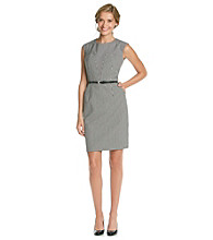 Calvin Klein Pocketed Sheath Dress