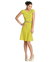 Anne Klein® Banded Swing Dress