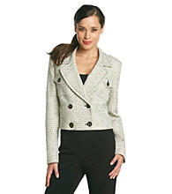Nine West® Tweed Cropped Jacket