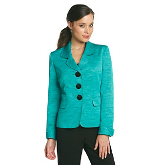 Kasper® Plus Size Tweed Jacket