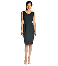 Kasper® Navy Sheath Dress