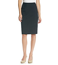 Kasper® Navy Skirt