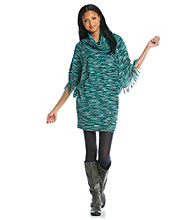 Jessica Simpson Poncho Sweater Dress