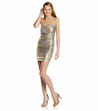 Teeze Me Juniors' Foil Tube Dress